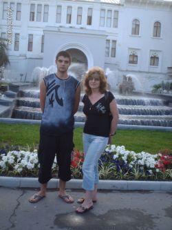 Я и мой сын Ванечка