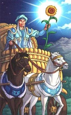 арканы: колесница